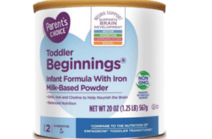 A Container of the Toddler Beginnings Product