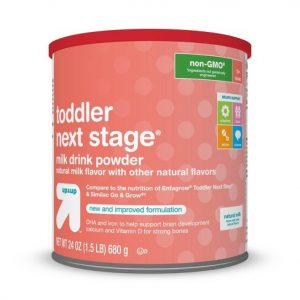 Can of Target Toddler Next Stage Formula