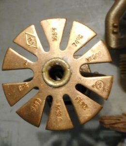 A Viking VK457 Sprinkler Head