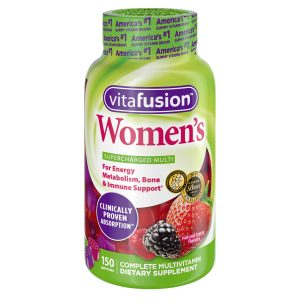Bottle of Vitafusion Women's Complete Multivitamin