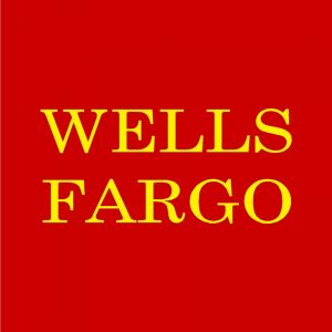 Wells Fargo Red and Yellow Logo