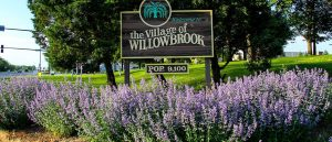 Willowbrook Village Sign