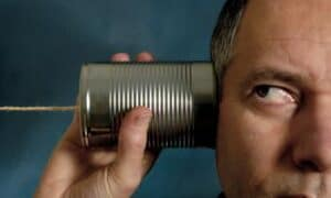 Wiretapping: Tin Can Telephone