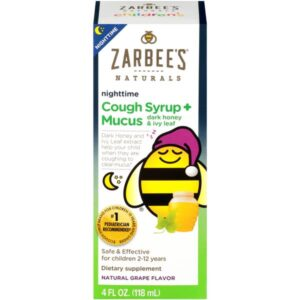 A Zarbee's Naturals Cough Syrup