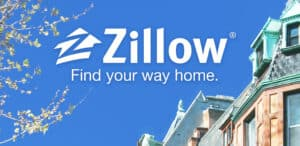 Zillow Ad: Sky and Tops of Homes