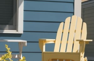 Chair in Front of Allura Siding