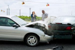 Auto Collision with Damaged Vehicles