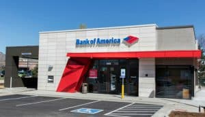 Small Bank of America Branch