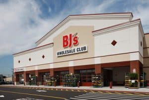 Exterior of a BJ's Wholesale Club Store