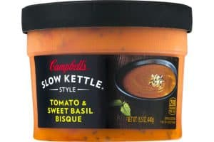Campbell's Slow Kettle Style Tomato & Sweet Basil Bisque