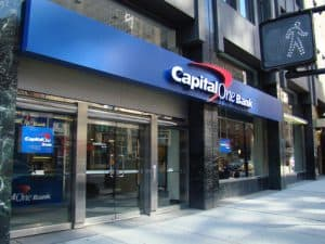 Capital One Branch on City Street