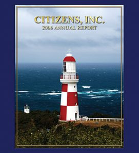 Citizens Old Annual Report Cover
