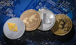 Four Cryptocurrency Coins