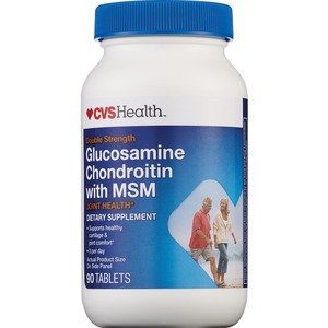 Container of CVS Health Glucosamine Product