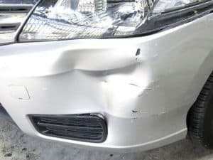 Collision Damage to Car