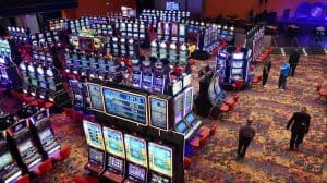 Room of Gaming Machines at the Casino at Dania Beach