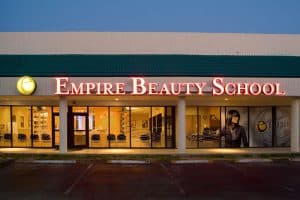 Front of an Empire Beauty School Branch