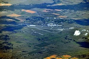 Aerial View of Fairchild Air Force Base