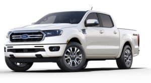 2019 Ford Ranger Lariat Truck with Crew Cab