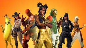 Characters from Fortnite Game