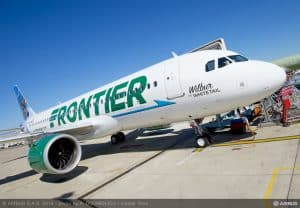 Frontier Airlines Airbus Aircraft