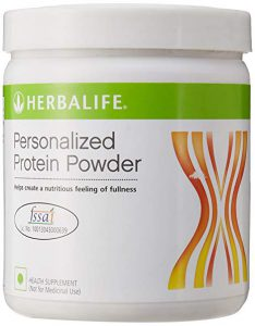 Container of Herbalife Protein Powder Product