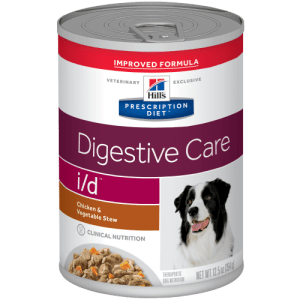 Can of Hill's Prescription Diet Digestive Care Dog Food—Chicken & Vegetable Stew