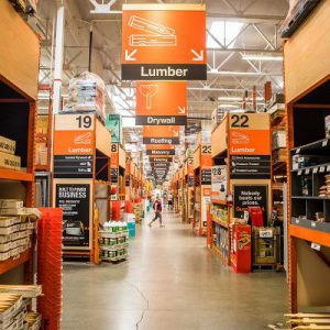 Home Depot Store Aisle
