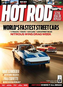 Cover of an Issue of Hot Rod Magazine