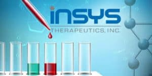 Insys Logo and Test Tubes