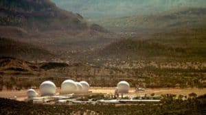 Joint Defense Facility Pine Gap in Alice Springs
