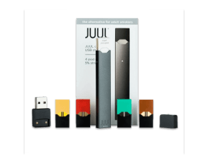 """Juul """"Starter Kit"""" with E-Cigarette and Pods"""