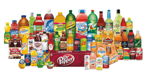 Large Array of Keurig-Dr. Pepper Products