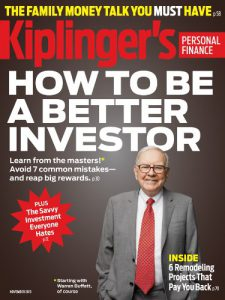 Cover of an Issue of Kiplinger's Personal Finance