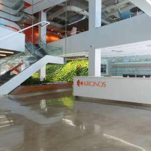 Lobby of Kronos Incorporated