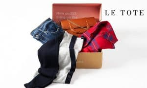 Box from Le Tote