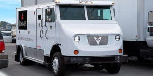 Image of armored truck