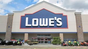Front of Lowe's Store