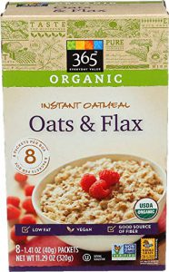 Box of 365 Everyday Value Oats & Flax