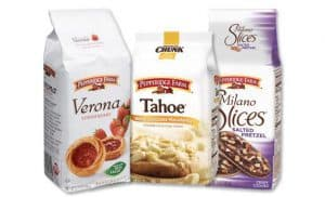 Three Types of Pepperidge Farm Cookies