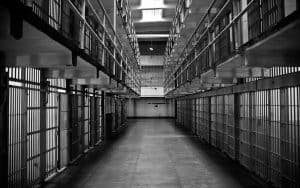 Prison Block with Cells