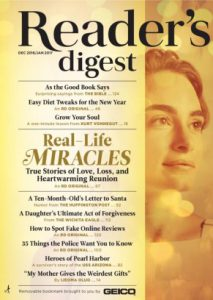Cover of Reader's Digest, a TMB Publication