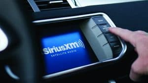 Sirius XM on Screen