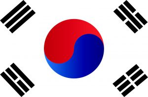 Flag of the Republic of Korea (South Korea)