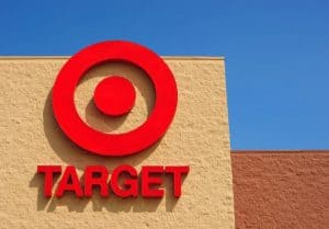 Target Name and Bullseye on Building