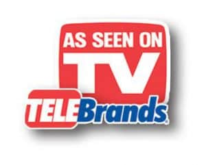 """""""As Seen on TV"""" and Telebrands Logos"""