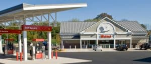 Wawa Convenience Store and Gas Pumps