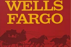 Wells Fargo Name with Stagecoach Logo