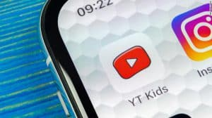 """Icon for """"Y T Kids"""" on SmartPhone Screen"""