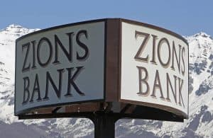 Zions Bank Sign